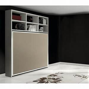 Meuble Lit Escamotable : meuble lit 2 places sofag ~ Farleysfitness.com Idées de Décoration