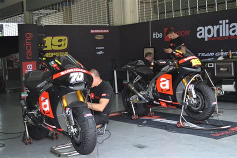 Racing Team by I Moto Team In Focus Aprilia Racing Team Gresini