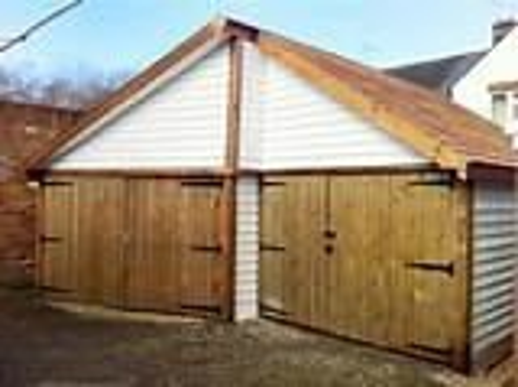 Bespoke Timber Garages built to look nice. - Custom Built ...