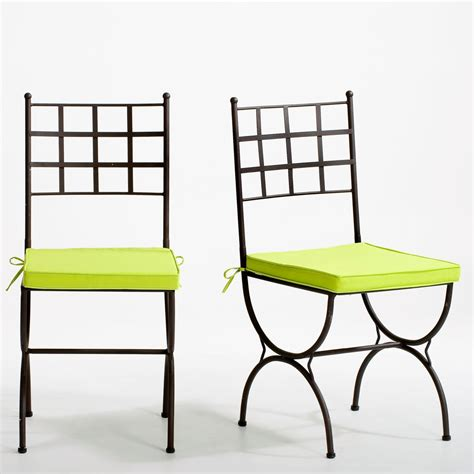 chaises fer forge pas cher chaise fer