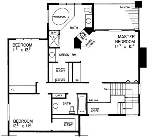 Contemporary Style House Plan 4 Beds 3 5 Baths 3315 Sq