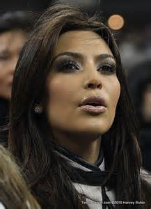 Kim Kardashian Mouth Open