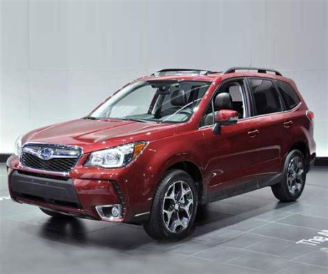 subaru forester redesign 2018 subaru forester redesign release date changes