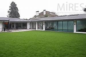 idee facade maison moderne 8 maison plain pied moderne With idee facade maison moderne