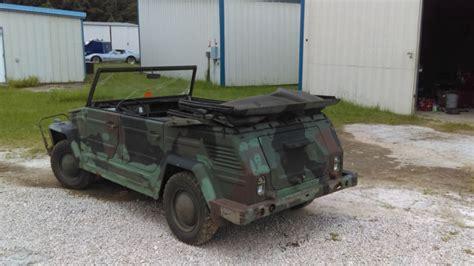 1976 Vw Kubelwagen Thing Type 181 German Military Nato