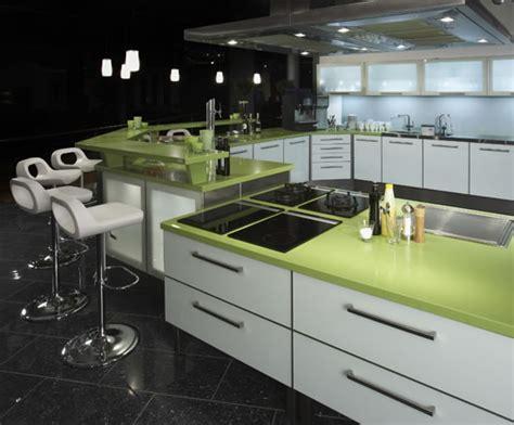 green kitchen worktop silestone quartz composite kitchen worktops cosentino uk 1455
