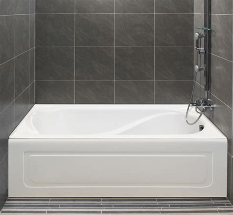 freestanding air bath alcove petunia tiling flange and skirt