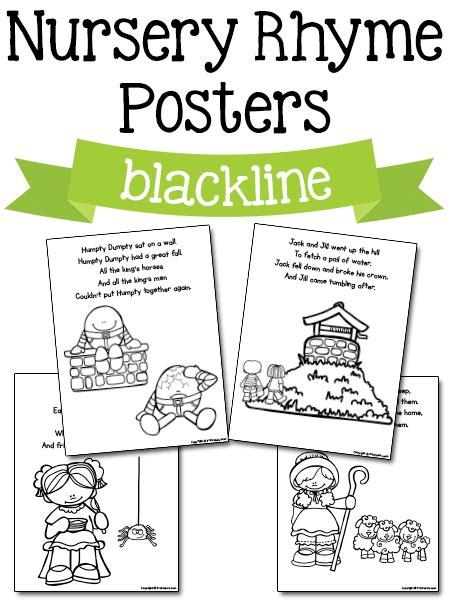 nursery rhyme printables gka nursery rhymes preschool 284 | 6cb9bf5f7c0099b3fef4df07a9d449fb