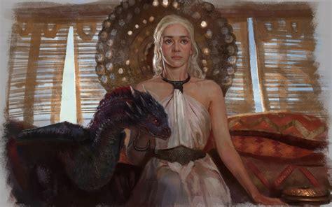 daenerys wallpaper game  thrones wallpaper