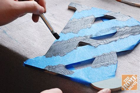 how to paint letters on wood diy gift ideas decorated wooden letters the home depot 10167