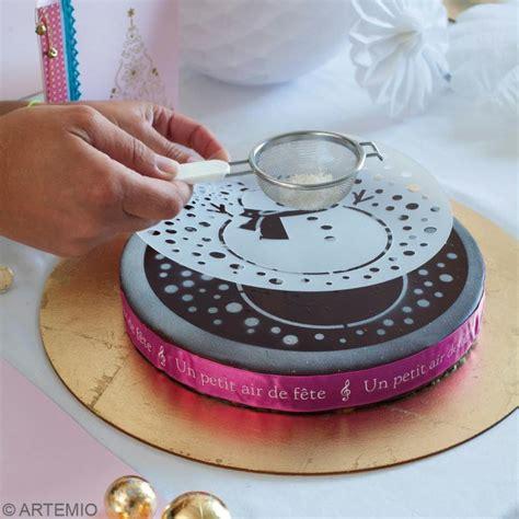 tamis fin cuisine décoration de gâteau au pochoir idées et conseils