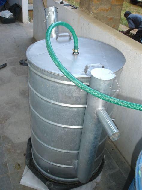 kitchen waste biogas plant design mini biogas plant srushti 8722