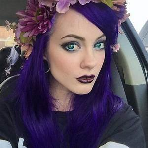 78+ images about PURPLE Hair on Pinterest | Purple hair ...