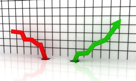 Diagramma Della Freccia Di Sviluppo Illustrazione Di Stock