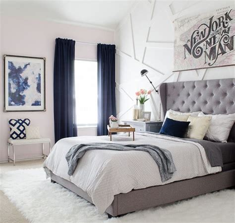 Bedroom Curtain Ideas by Navy Blue Bedroom Curtain Ideas 15 Ways To Decorate