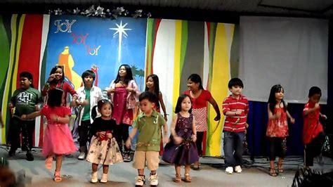 sunday school kids christmas presentation youtube