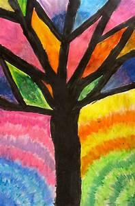 Image Gallery oil pastel drawings easy
