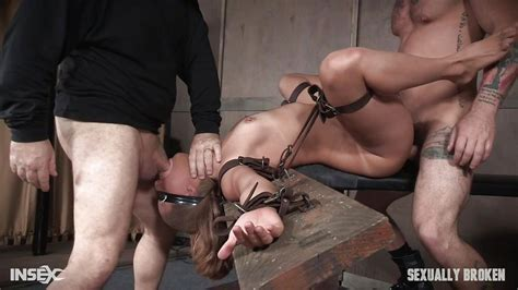 Julia Waters In Tied Up Julia Gets Mouth And Ass Fucked