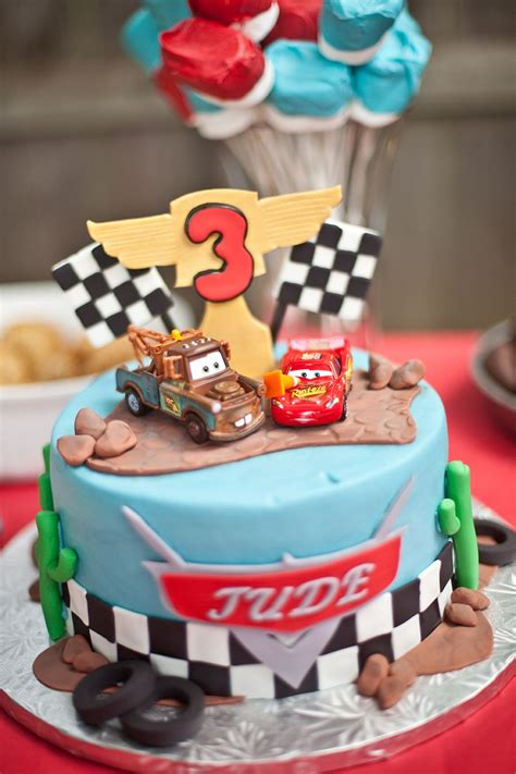 disney cars birthday cake landon    characters   topper cakes disney
