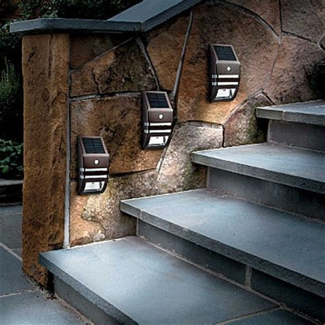 solar step light for the home