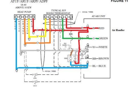 wiring honeywell  thermostat  heat doityourself