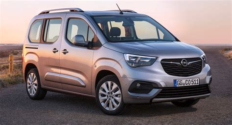 opel combo 2018 2019 opel vauxhall combo debuts with new styling and tech carscoops