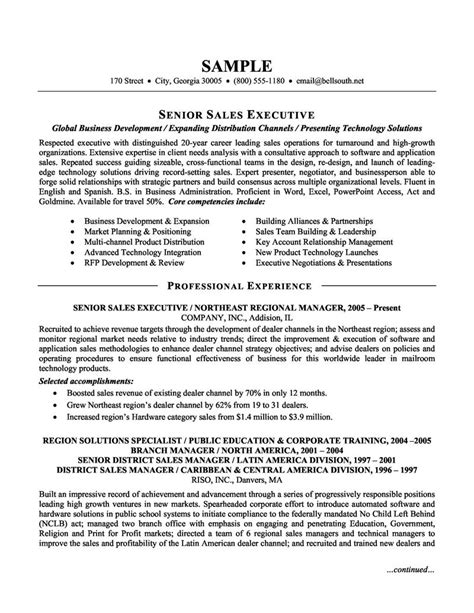 resume examples executive sales resume examples