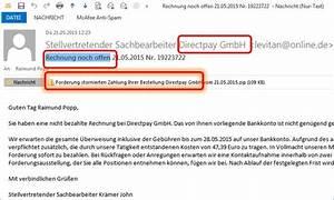 Rechnung Directpay : rechnung noch offen forderung stornierten zahlung ihrer ~ Themetempest.com Abrechnung