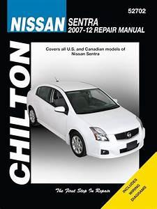 Nissan Sentra Repair Manual By Chilton