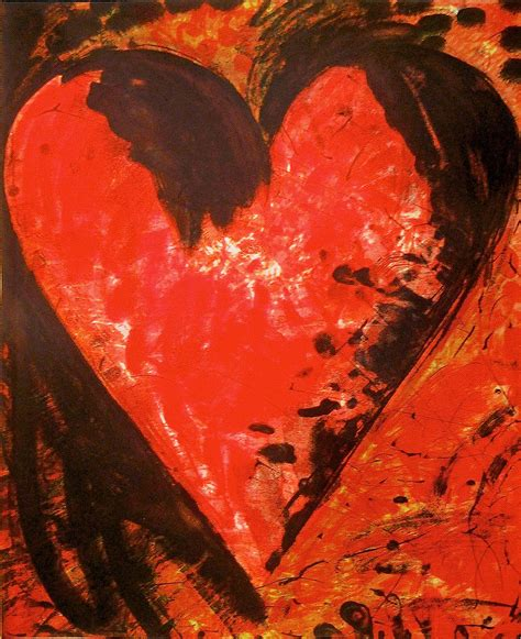 Jim Dine  Fresh, French And Beautiful, Print For Sale At