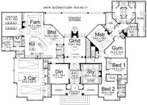 1 story luxury house plans luxury style house plans 5194 square foot home 1 story 3 bedroom and 3 bath 3 garage