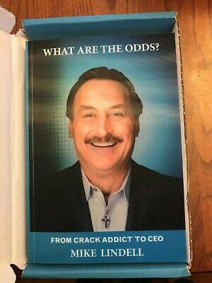 Mike lindell, inventor and ceo of mypillow®, is celebrating 11 years of sobriety with the release of his new the book brings full circle a promise that mike had been making for years to friends and fellow. NIB What Are The Odds Mike Lindell PRISON VERSION ...