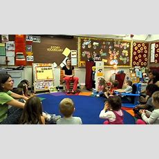 Morning Circle At Preschool Youtube