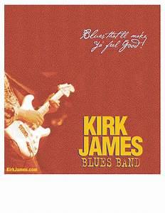 Kirk James Blues Band Poster