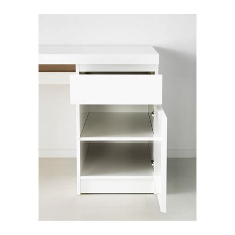 bureau ikea malm ikea malm desk can be placed in the middle of a room