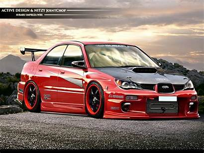 Subaru Wrx Sti Impreza Wallpapers Cars Modified