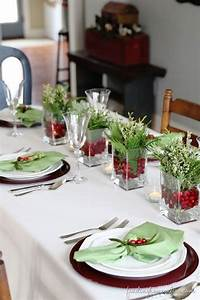 78+ images about Christmas Table Decorations on Pinterest