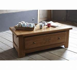 Table Basse Chne Massif 3844