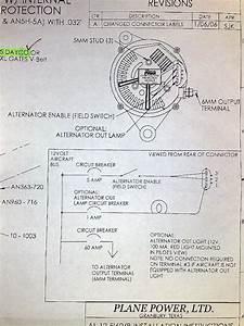 Wiring An Planepower 60a Altenator
