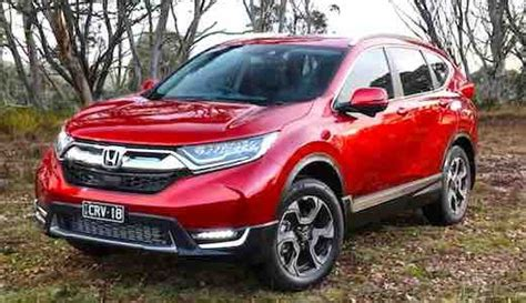 honda cr  improvements car  release