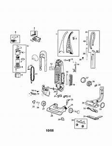 Bissell 9v00 Upright Vacuum Parts