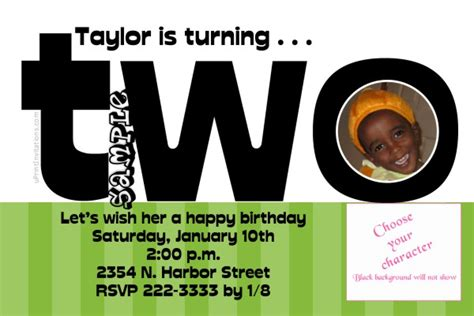 age  word  clipart birthday invitations  colors