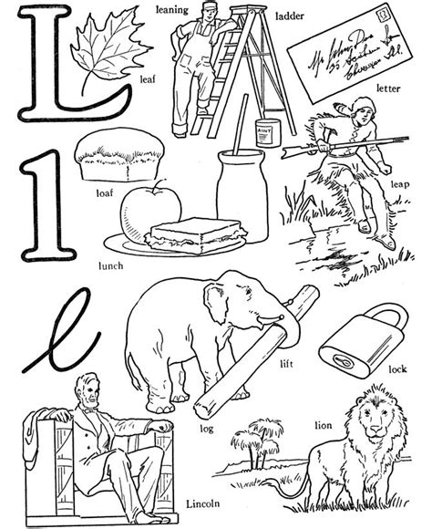 words of letter n free alphabet s179e coloring words free colouring pages 57776