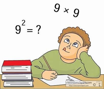 Problem Math Solving Clip Clipart Student Problems