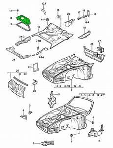 Porsche 911 Smugglers Box Cover Lid 91150404400grv