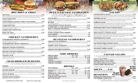 menu cuisine az portillo 39 s menu menu for portillo 39 s central scottsdale