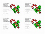 candy cane poem - Google Search | Candy cane poem, Candy ...
