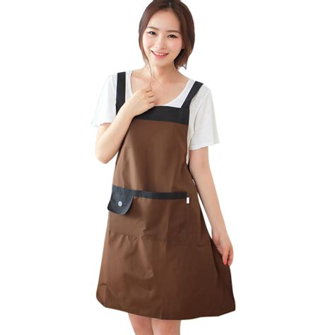 Kitchen Aprons For by Apron Kitchen Restaurant Bib Cooking Aprons With