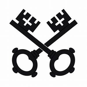 Two Black Keys Wipp Dorf Coat Of Arms SVG Clip arts ...
