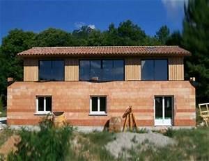 cj charpente constructeur de maison en brique et en bois With maison brique et bois
